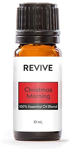 Revive Essential Oils Christmas Morning 10 ml - 100% Pure Therapeutic Grade, for Diffuser, Humidifier, Massage, Aromatherapy, Skin & Hair Care - Cruelty Free - Unrefined Oils with No Fillers.