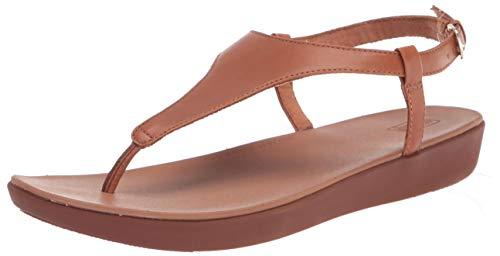 Fitflop Lainey Toe-Thong Back-Strap Sandals, Sandali a Ciabatta Donna, Light Tan, 39 EU