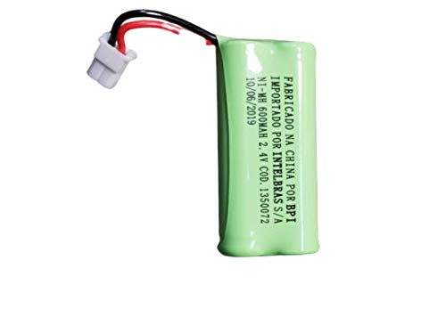 Bateria Original Intelbras 2,4v 600mah Para telefone Sem fio