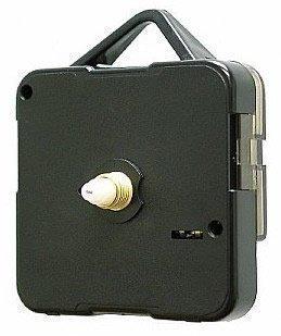 Preisvergleich Produktbild Ersatz Quarzuhr Tickend Bewegung Motor Mechanismus Plus Batterie (Lang 10mm Spindel Schaft für Uhr Gesichter bis zu 10mm Stärke)