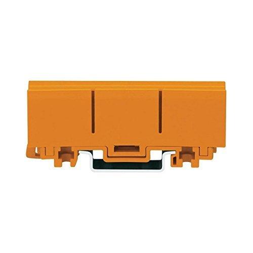 Wago Befestigungsadapter, 2273-500 (10 Stück Befestigungsadapter), Orange