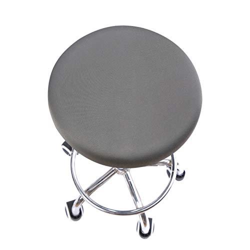 LLAAIT 1/2/4/6 Piezas Spandex Fundas elásticas elásticas Fundas para sillas para Comedor Ro Cocina Boda Hotel Banquete Color sólido Funda para Silla-E, China, 2 Piezas