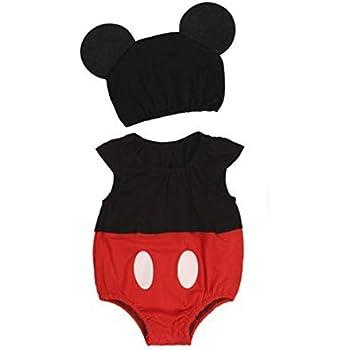 Western Deco Disfraz de Mickey Mouse para bebé recién Nacido, de ...