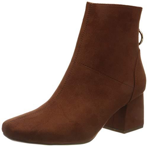 ONLY ONLBILLIE-1 Life MF Heeled Boot, Botas de Moda Mujer, Herrumbre, 37 EU