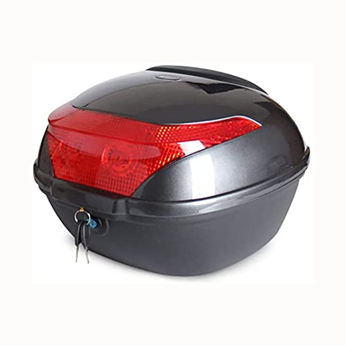 Funda superior para scooters con Nightwarette, caja de top al aire libre resistente al desgaste en el diseño humanizado para motocicletas, case de casco para scooters, motocicleta, ciclomotor y quad,F