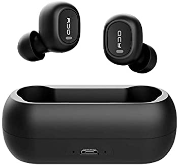 Homscam QCY Bluetooth 5.0 Earbuds with Charging Case