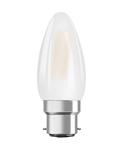 Osram 4058075808225 Ampoule LED Verre 4,00 W B22d Blanc