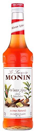 Monin Sirup Winter Spice I Weinachtsedition Ideal für Glühwein mit Zimt Nelken Piment 0,7l (Winter Spice)