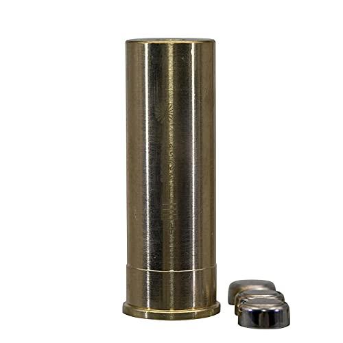 MAYMOC 12G calibre cartucho Bore Sighter colimador con 2 juegos de baterías
