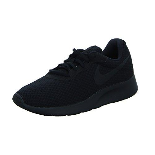 NIKE Scarpe Uomo Sneakers Tanjun in Tela nera 812654-001