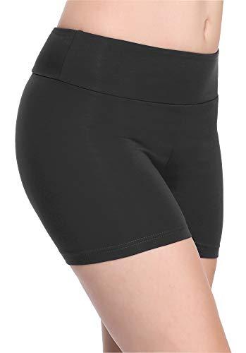 Merry Style Culote de Ciclismo Mallas Cortas Leggins Mujer MS10-284 (Grafito(Shorts), XS)