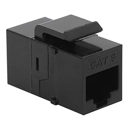 3 uds módulo RJ45 CAT6 RJ45 trapezoidal recto a través de redes módulo Jack acoplador en línea toma de información adaptador de cable acoplador