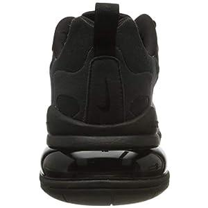 Nike Air Max 270 React Mens Casual Running Shoes Ci3866-003 Size 11, Black Dark Grey