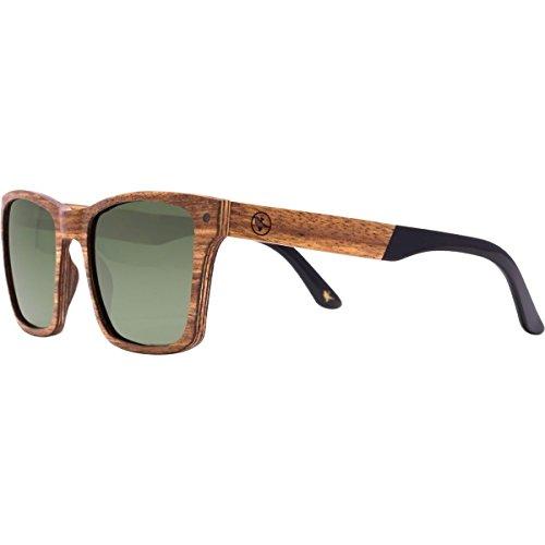Proof Eyewear Tamarack Polarized Sunglasses Lacewood Grey Polarized,...