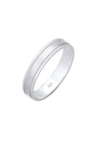 Elli PREMIUM Ring Damen Paarring Bandring Trauring Hochzeit in 925 Sterling Silber