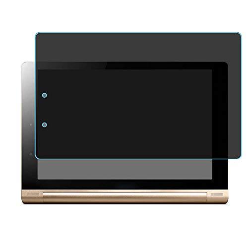 Vaxson Protector de Pantalla de Privacidad, compatible con Lenovo YOGA TABLET 10 HD+ B8080 10' [no vidrio templado] TPU Película Protectora Anti Espía
