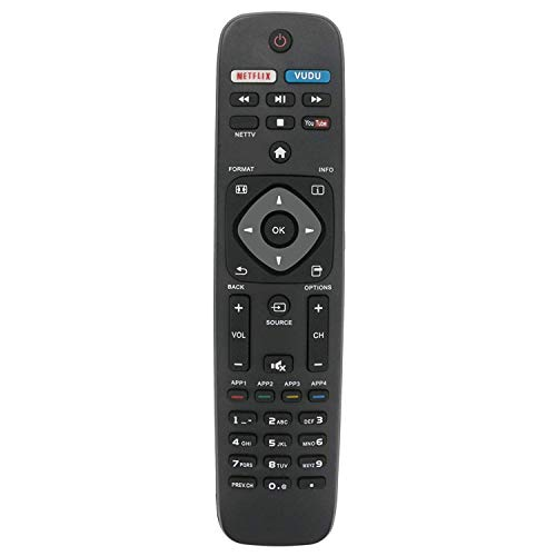 New Replacement Remote Control for URMT39JHG003 40PFL1708 40PFL1708/F7...