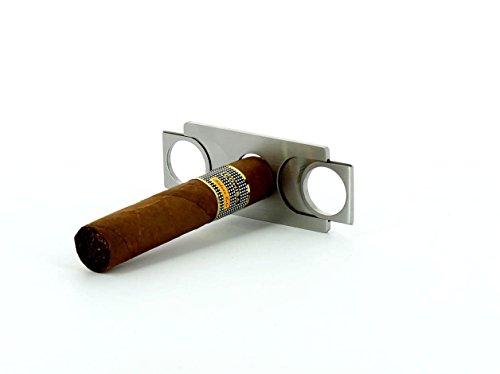Zigarrenschneider Cutter 2 Klingen Scheckkartenformat