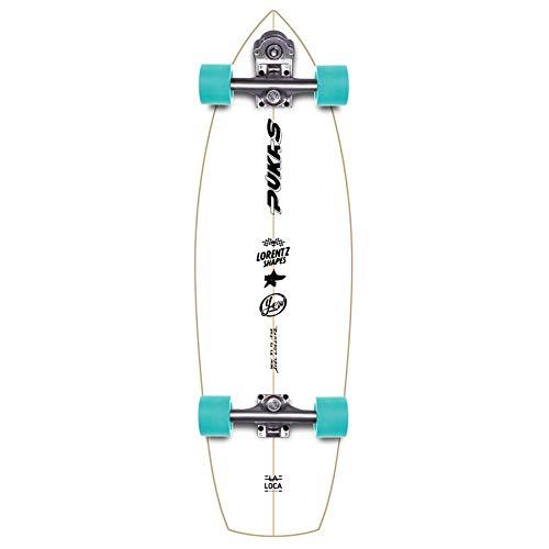 YOW La Loca 31.5' Signature Series Surfskate Skateboard, Adulti Unisex, Multicolore (Multicolore)