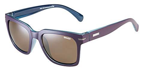SINNER Polarisierte Sonnenbrille Damen - Polarisierte Gläser - Vintage Sonnenbrille - Lila Farbe - 1 Stück