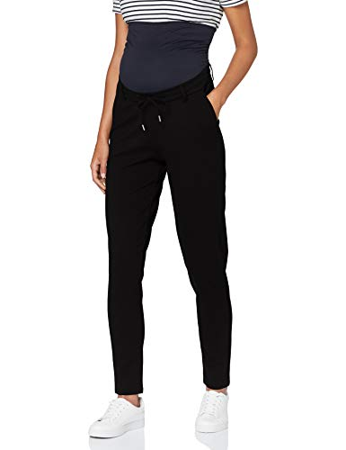 Noppies Damen Pants Jersey OTB Renee Hose, Black-P090, M