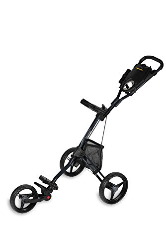 Bag Boy Express DLX Pro Push Cart, Matte Black