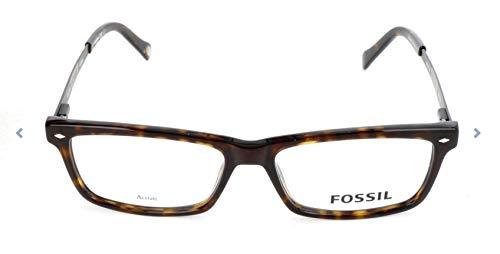 Fossil Brillengestelle FOS 6032 Rechteckig Brillengestelle 54, Mehrfarbig