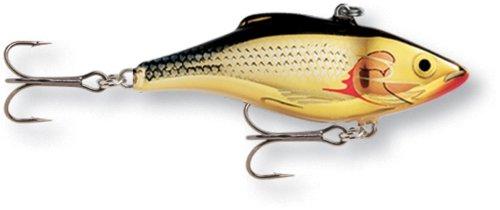 Rapala Isca de pesca Rattlin 07 (ouro prata, tamanho 2,75)
