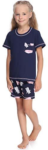 Merry Style Pijama Manga Corta Camiseta y Pantalones Ropa Niña MS10-292