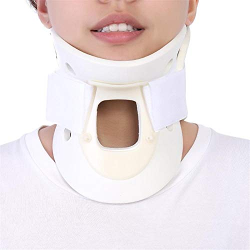 YLFC 3 Sizes Neck Support Brace Cervical Collar Vertebra Neck Support Pain Head Stretcher Relief Neck Orthosis Braces for Women Men (Size : Large)