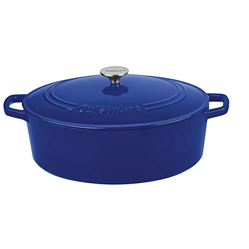 Amazon - Cuisinart Cast Iron, 7 Quart Oval $69.99