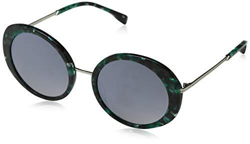 Karen Millen dames atelier zonnebril, groen (teal), 55,0