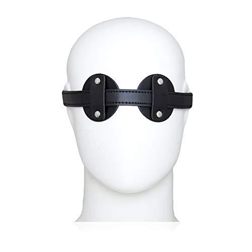Cinturón de cintura corporal Dormir del juego Máscara Soft Travel Vendfold Cómodo Ojo Sombras Unisex Adultos Houde Hoder Hood transpirable Novedad Traje Ojo Cubierta para las mujeres Hombres Decoracio