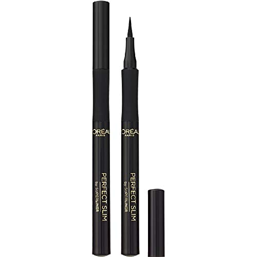 L'Oréal Paris Superliner Perfect Slim, Eyeliner in Penna, Colore: Nero intenso