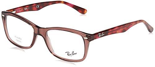 Ray-Ban Damen Brillengestelle 5628, Braun , 53