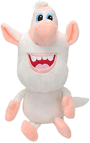 Booba Buba Maialino Bianco Cooper Peluche Figura Peluche Ripiene Doll Peluche Booba Buba Russia White Cooper Puppet Anime Happy Pig 35cm (35cm)