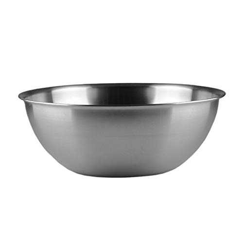 Mixing Bowl Stainless Steel Bowl Cooking Bowl Egg-Beating Cream Bowl Stainless Steel Material Not For Microwave Oven Suitable For Dishwasher Induction Cooker