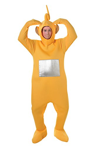 Rubies Official Laa-Laa Teletubbies, Combinaison pour Adulte - Taille Standard