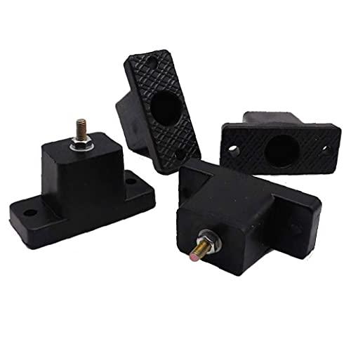 Aria condizionata Shock Pad Gomma Bracket Cushion Outdoor Air Condizionatore Accessorio 4pcs Utility