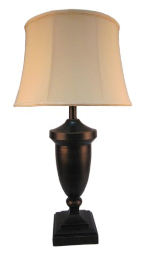 Fangio Lighting 1267 28-1/2-Inch Metal Table Lamp, Antique Bronze