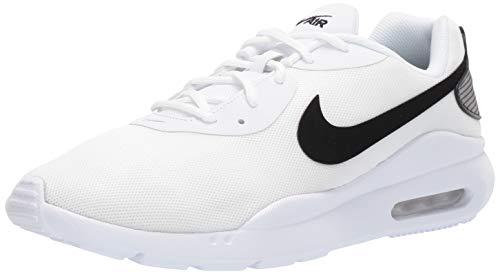 Nike Air MAX Oketo, Zapatillas Deportivas. Mujer, Blanco y Negro, 42.5 EU