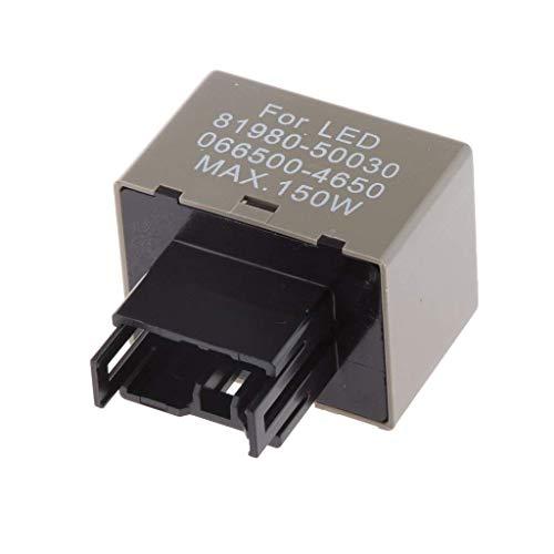 レクサストヨタ用8ピン150W電子LEDフラッシャーリレーフィックスターンシグナルライトフィット