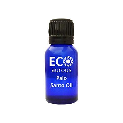 Palo Santo Oil (Bursera Graveolens) 100% Natural, Organic, Vegan & Cruelty Free Palo Santo Essential Oil   Pure Palo Santo Oil By Eco Aurous (10 ml)