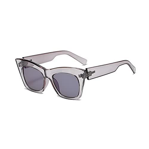 Gafas de sol de moda hombres mujeres marco grande ojo de gato gafas de sol