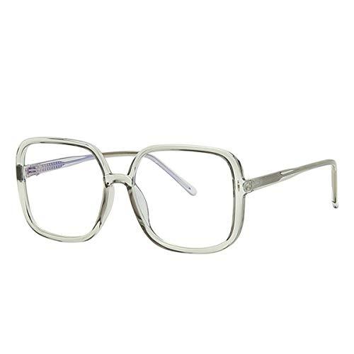 SXSHYUFC Anti-Schwindel Blaulichtfilter Brille Computerbrille für Herren Damen Anti Müdigkeit Blaue Licht Blockieren Brille Verringerung der Augenbelastung Presbyopie Leser Anti-Müdigkeit, 4
