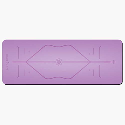 Jian yogamat, antislip yogamat, voor knieën, armen en elleboog, met gepatenteerd Alienation System en maximale grip, koop er een en draag andere gratis