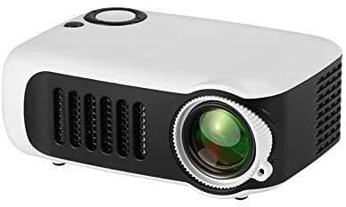 TOPQSC Mini Proyector,Portatil Proyector Cine en Casa, HD...