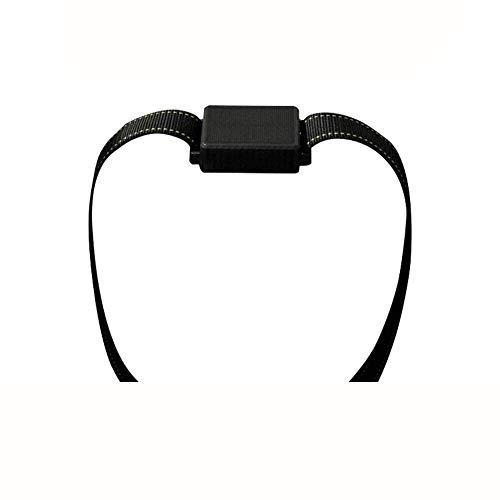 GBY Gps-tracker, huisdier-GPS-detectieset met halsband, nylon halsband, koeienhuid, enz., bescherming voor mobiele telefoon op afstand, lange bereiding, geschikt voor runder- en schapenhuid enz.