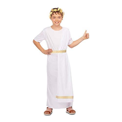 My Other Me Disfraz de Emperador Romano Blanco para niño