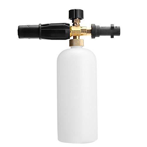 YDHG Flacon Pulvérisateur Durable 1L Nettoyeur Haute Pression en Mousse Bouteille de pulvérisation Distributeur de Liquide Portable (Color : White, Size : 1L)